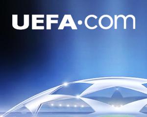 UEFA iOS app pitch