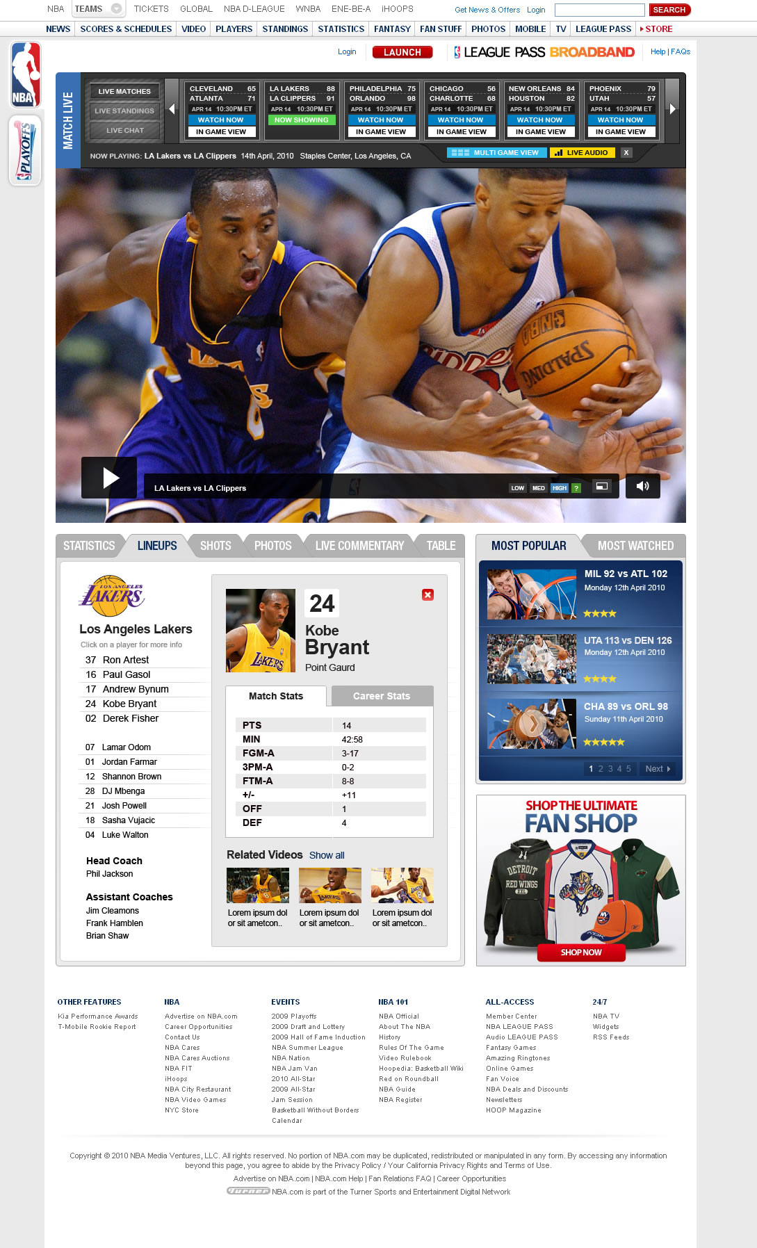 NBA_live_pitch_player_stats
