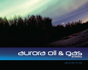 Aurora Oil & Gas Annual Report