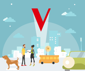 V by Vodafone welcome screens